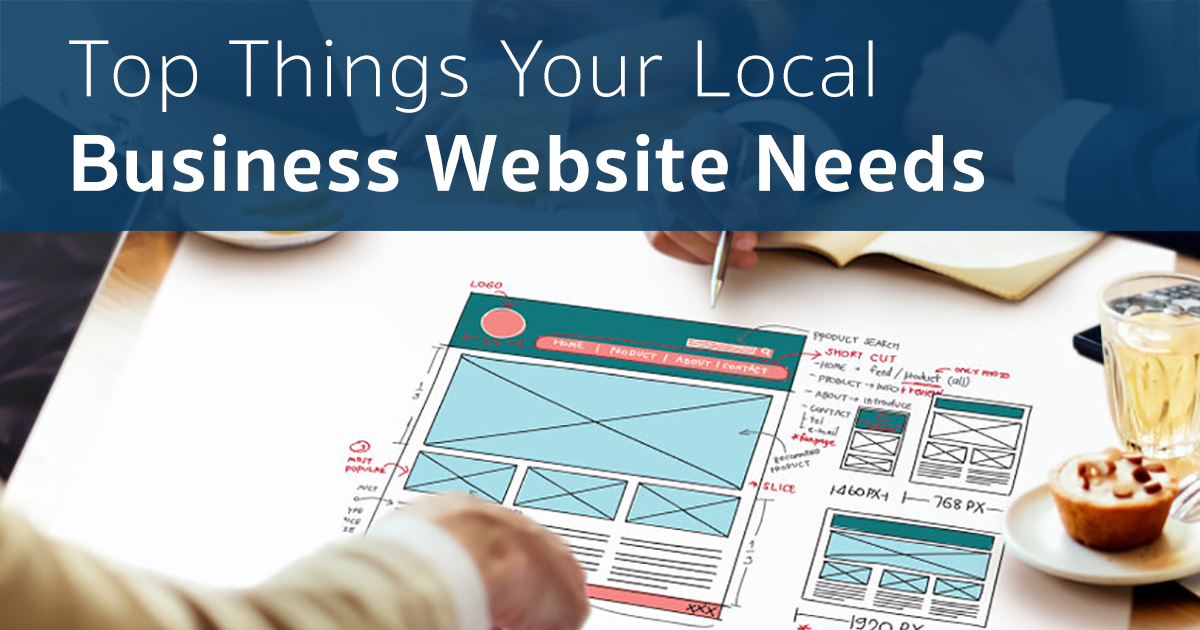top things your local service website needs